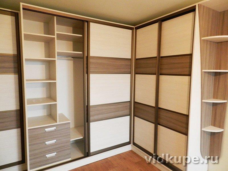 Корпусный шкаф в квартире, фото работ производителя фабрики .