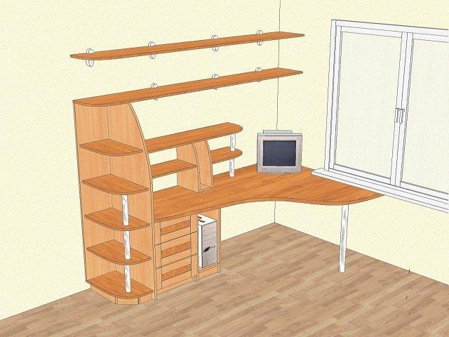 детские комнаты дизайн рисунки мебели от компании новый вид
