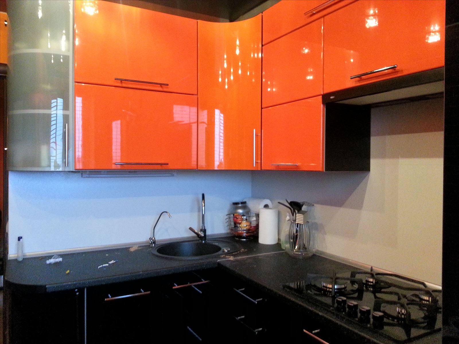 купить трафарет черно оранжевые кухни фото узнали, можно удалить
