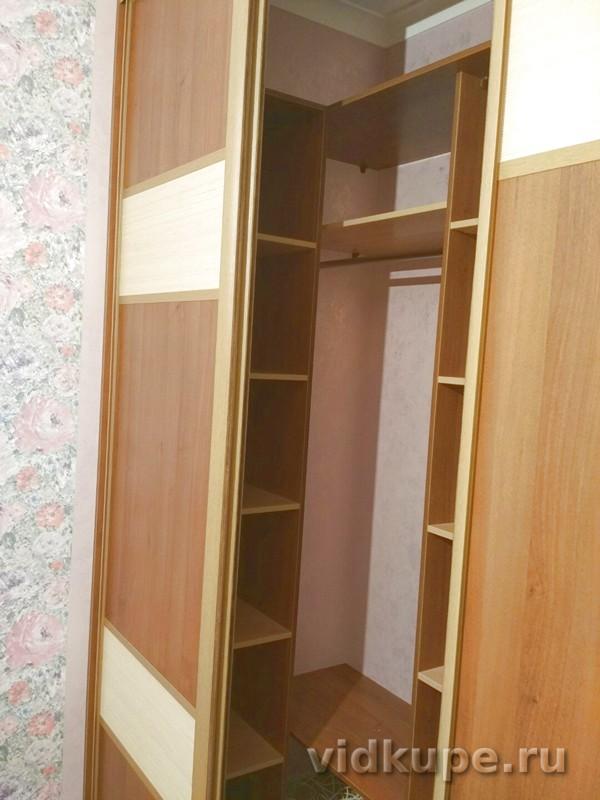 глубокий встроенный шкаф купе