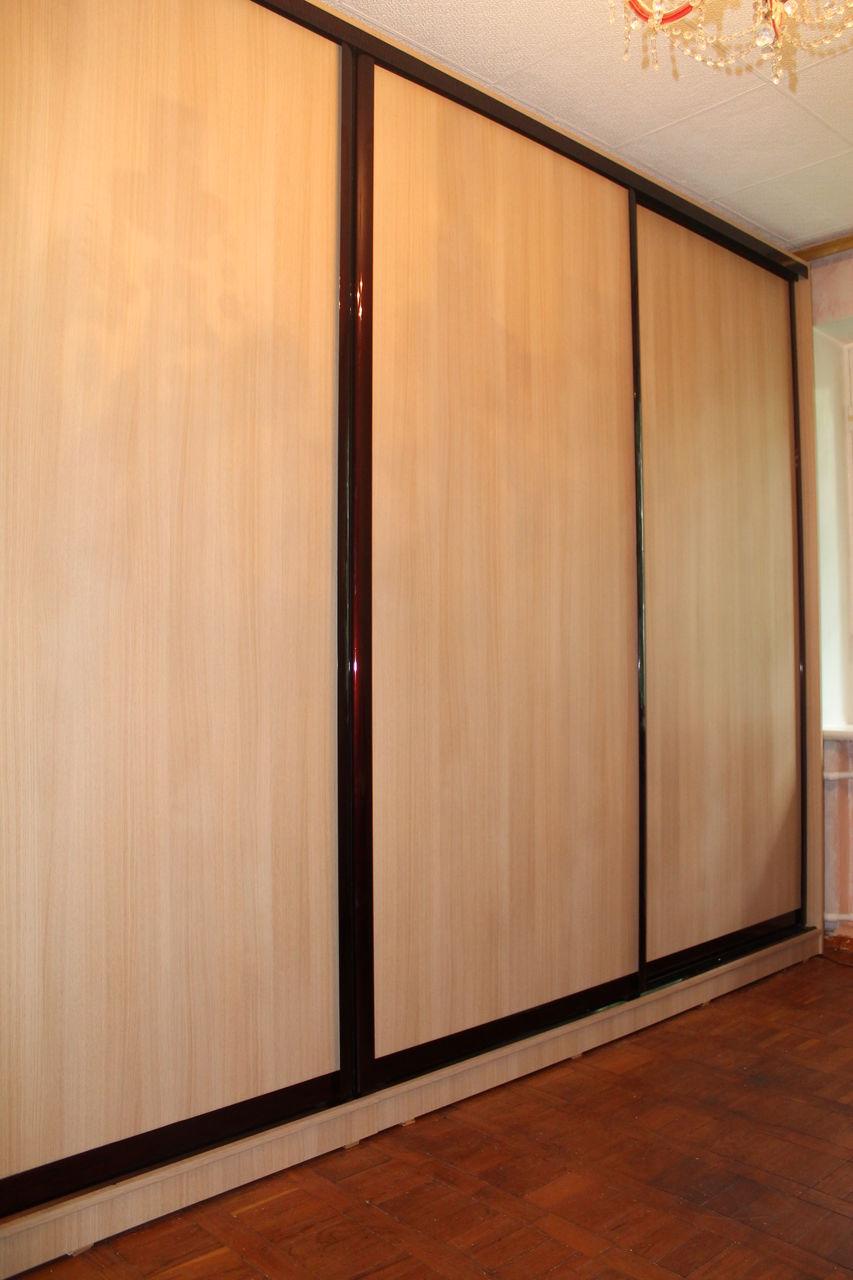 Шкафы купе с дверями из лдсп недорого, на заказ в краснодаре.